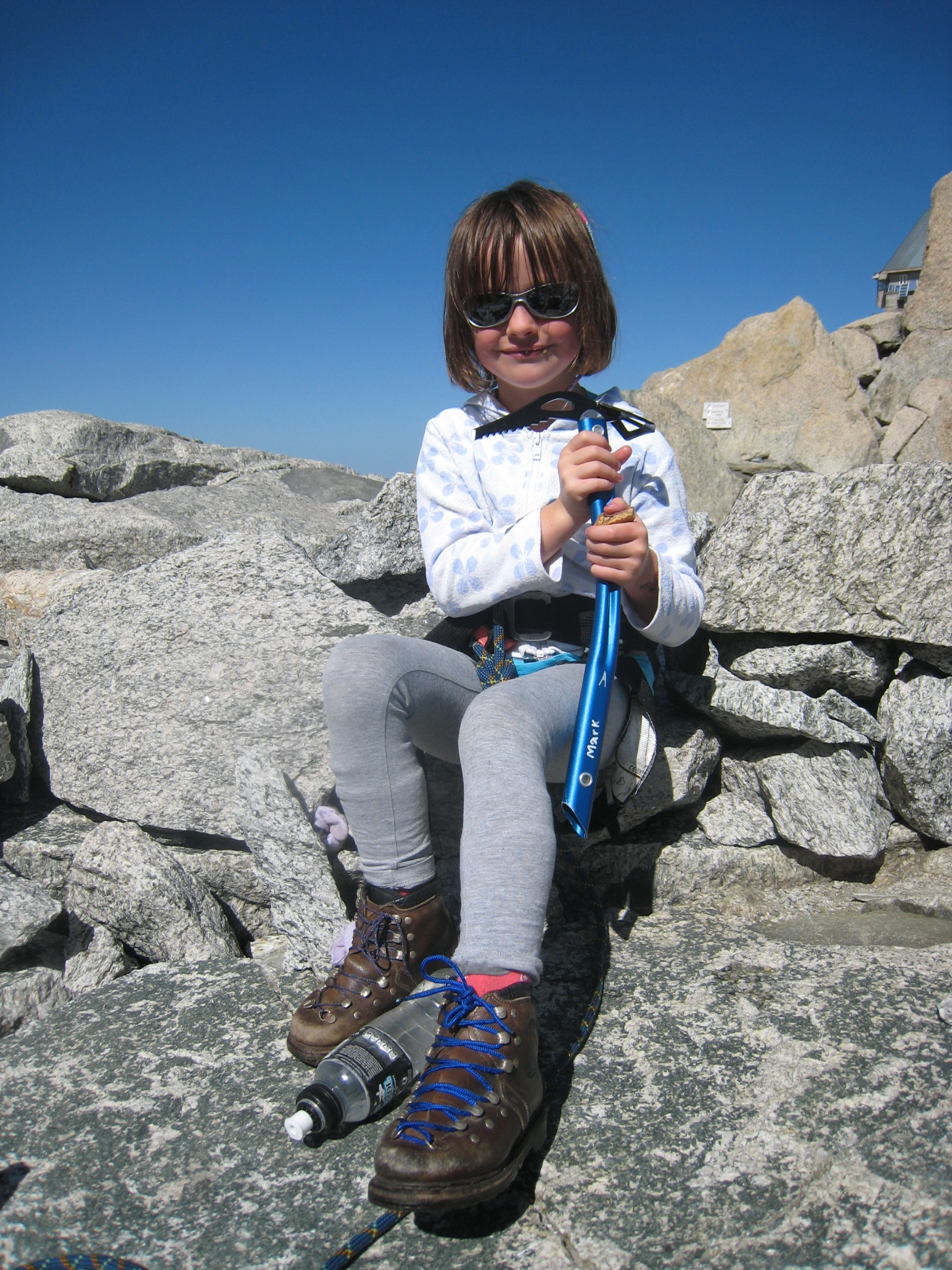 Image for article My First Mountaineering Boots