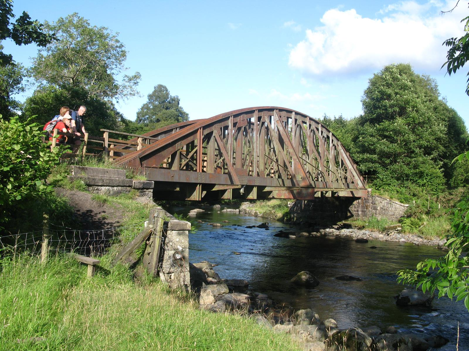 Image for article THIS MONTH'S WALK: THE OLD LINE TO THRELKELD