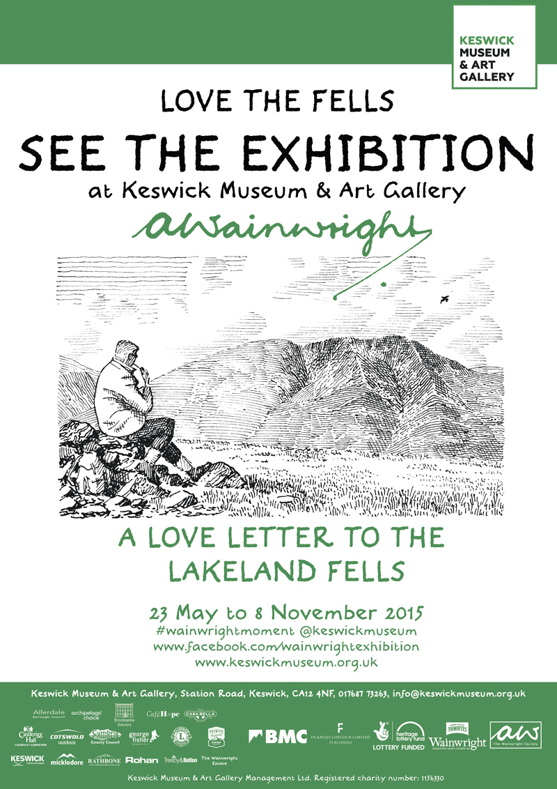 Love the Fells Wainwright Exhibition - Keswick Museum