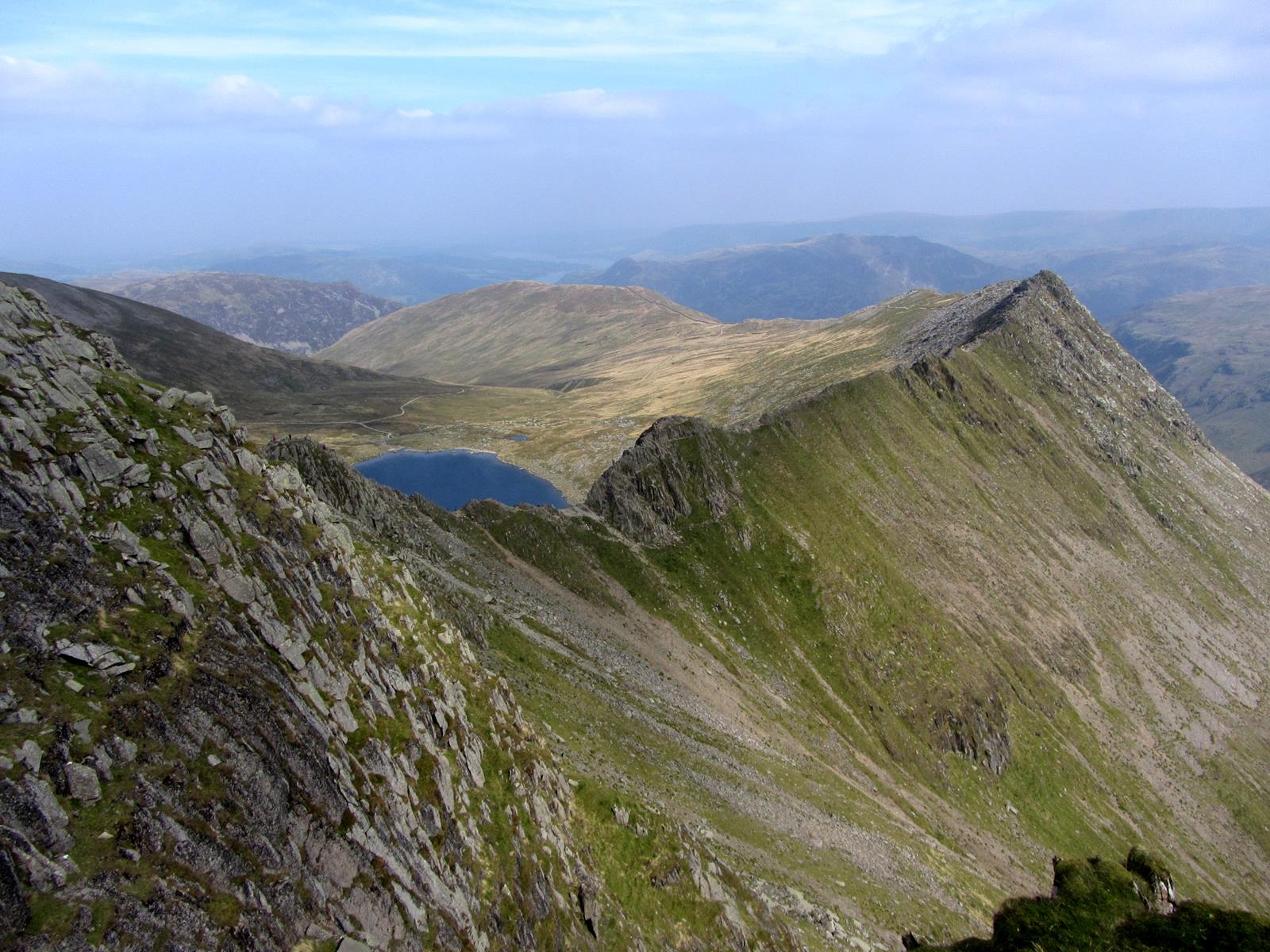 Image for article This month's walk: Helvellyn via Striding Edge and Swirral Edge