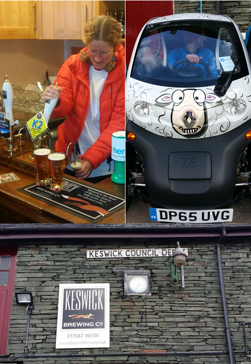 Keswick Brewing Co and their Twizy