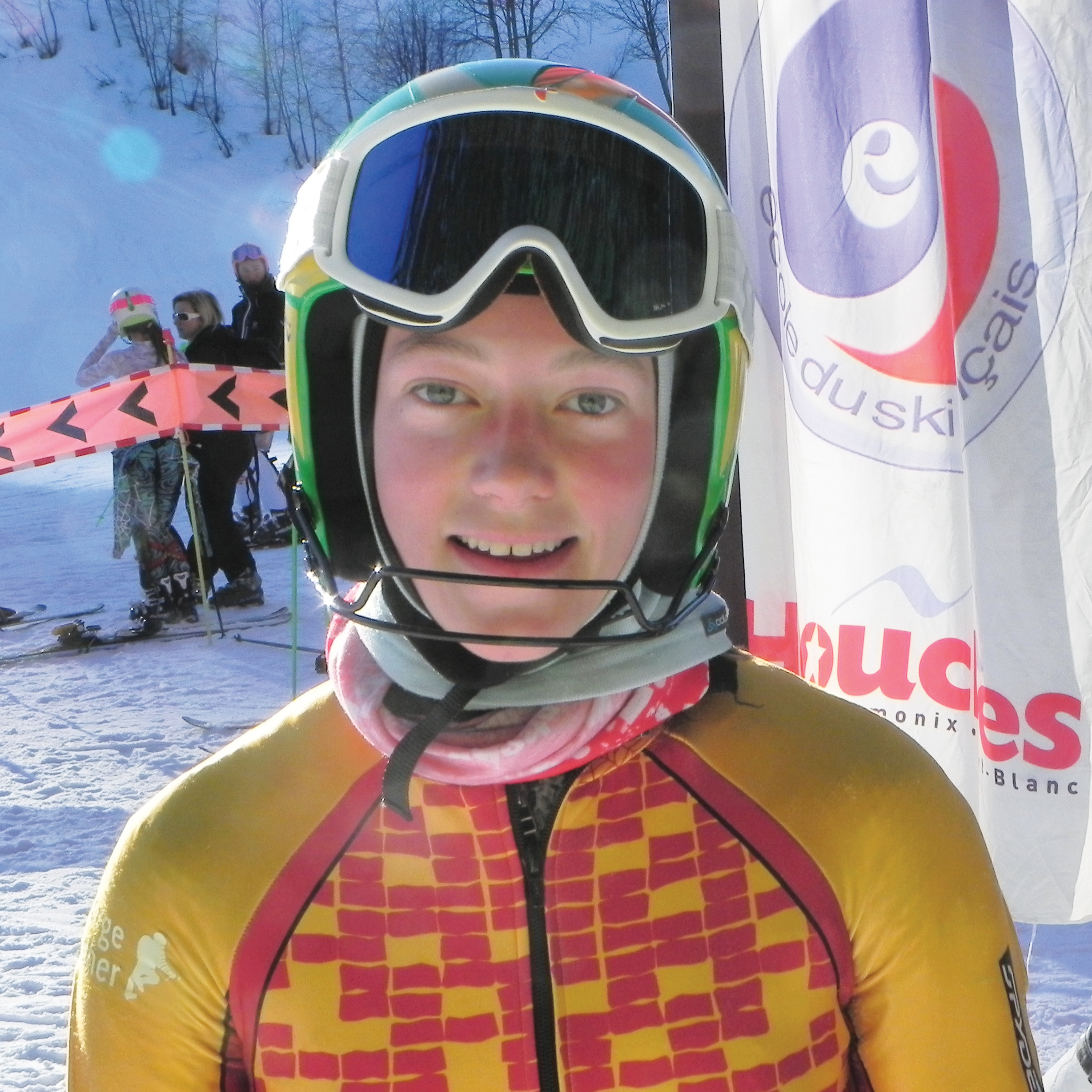 Image for article Our sponsored skier FRANCESCA LEE is 'race-ready'