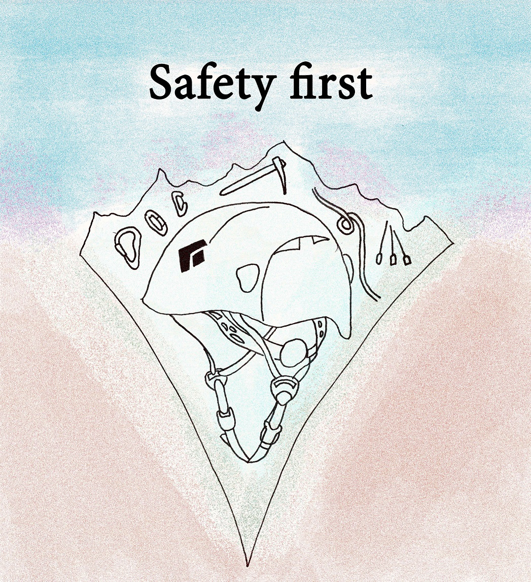 Image for article Climbing - Safety first