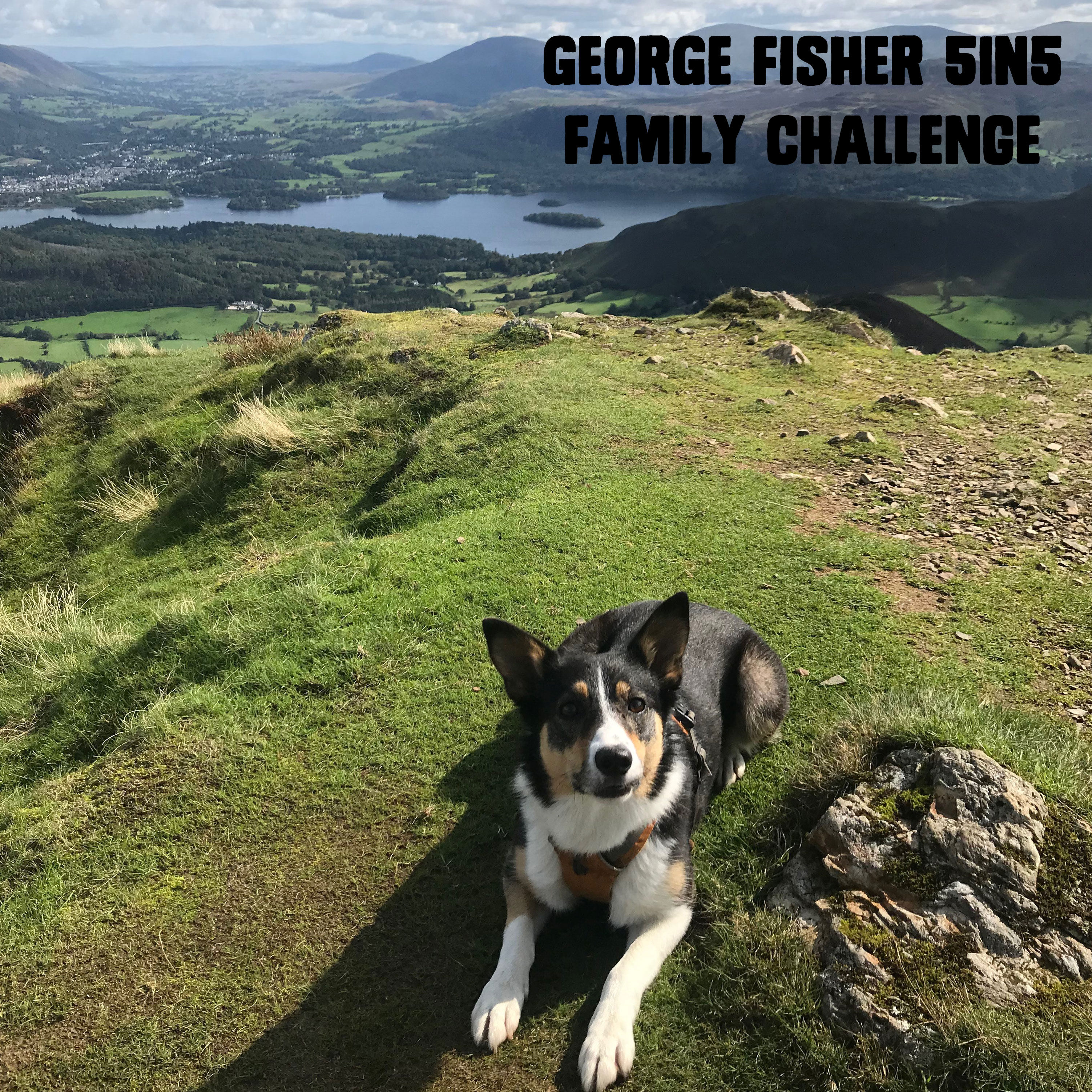 Image for article George Fisher celebrates the 5in5 Family Challenge