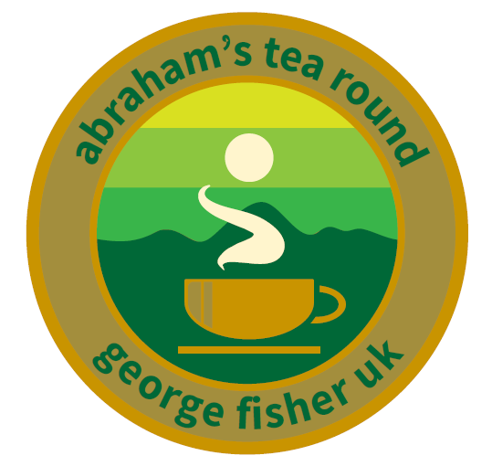 George Fisher Abraham's Tea Round by Victoria Rose Miller