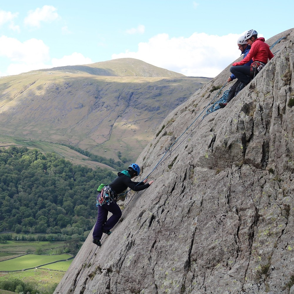 Image for article Lead Climbing – Esther Foster has some tips for starting out