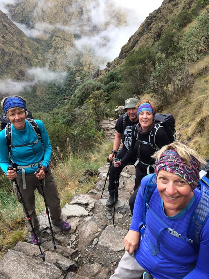 george fisher ke adventure travel anne downie inca trail