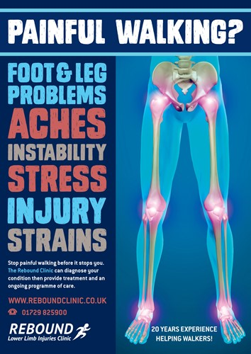 Image for article Podiatry Advice Clinic - 4th and 5th October