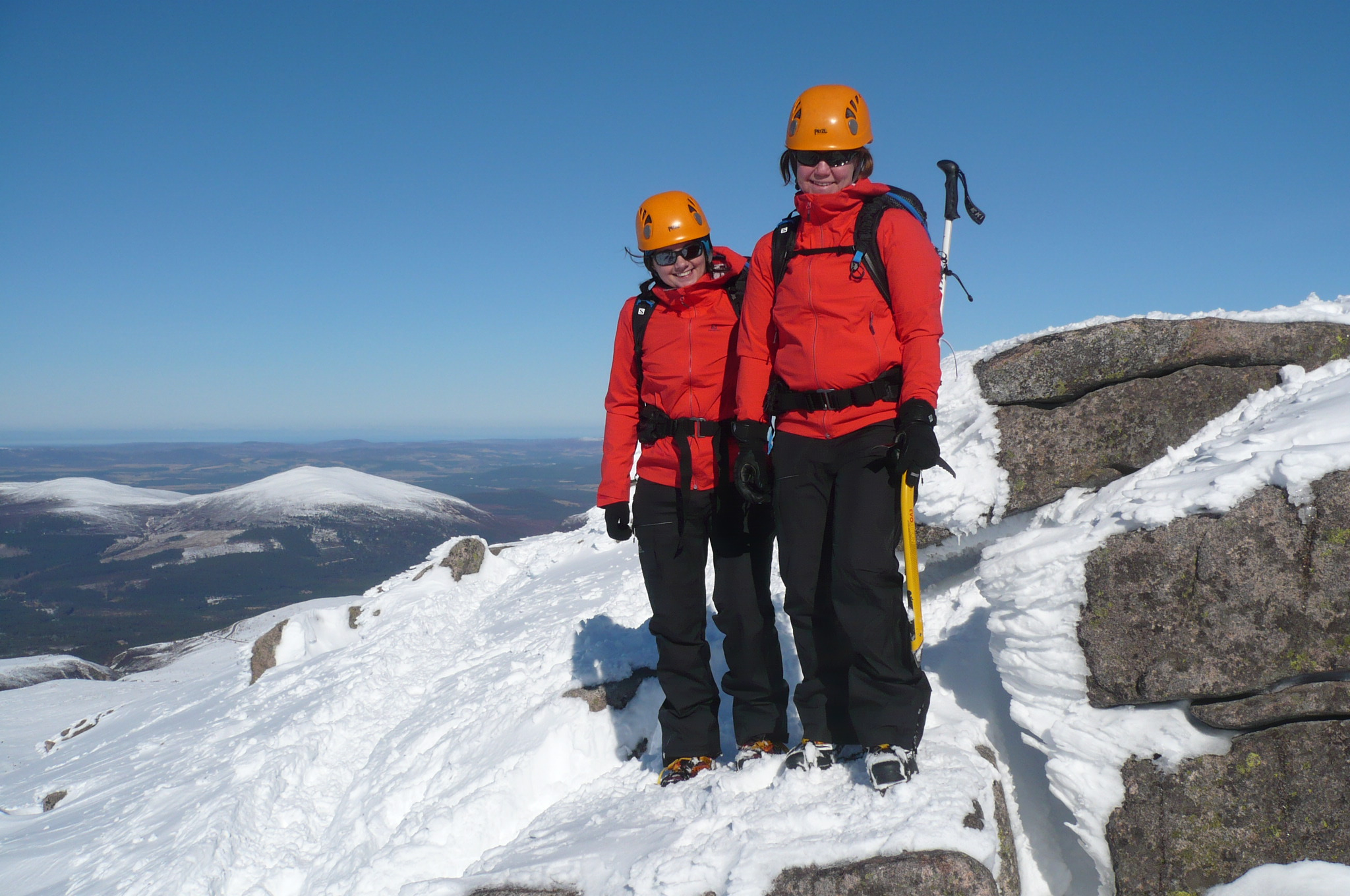 Image for article Bex and Jo's Aviemore trip with Salomon
