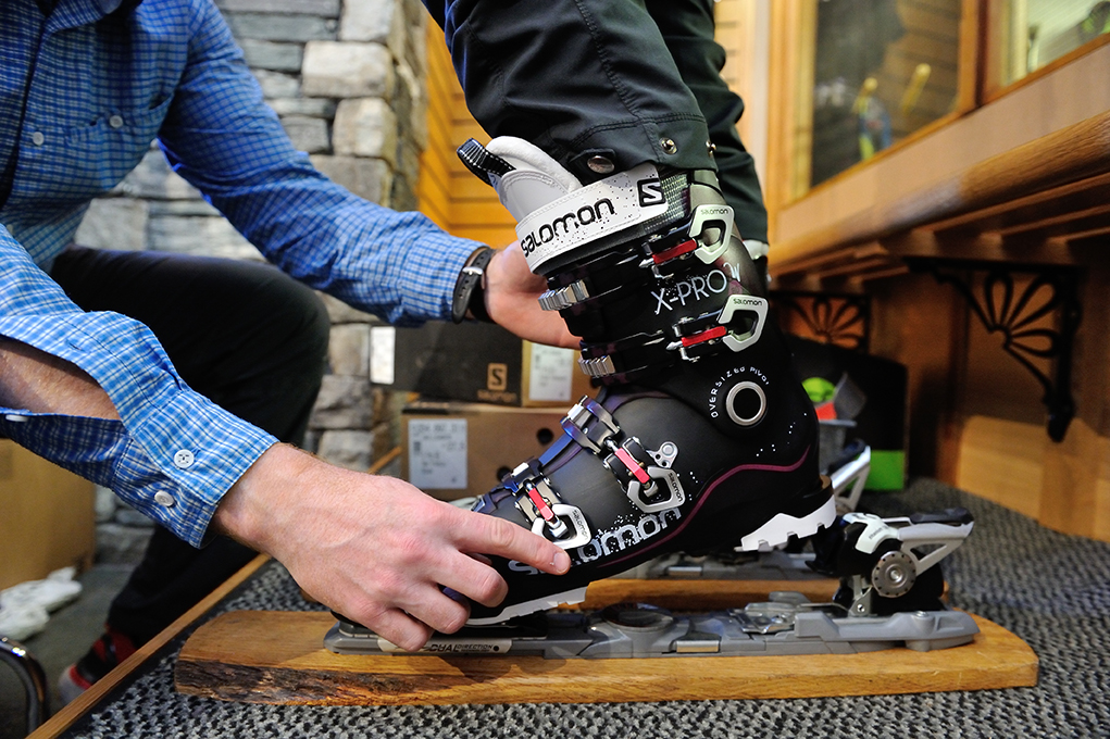 Ski boot assessment and fitting at George Fisher
